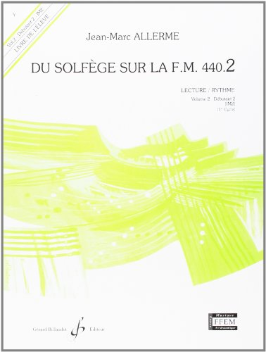 Du solfège sur la F.M. 440.2