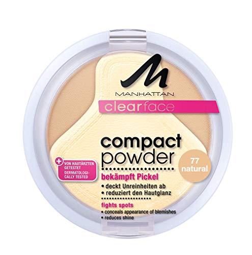 Manhattan Clear Face Poudre compacte Teinte 77 9 g