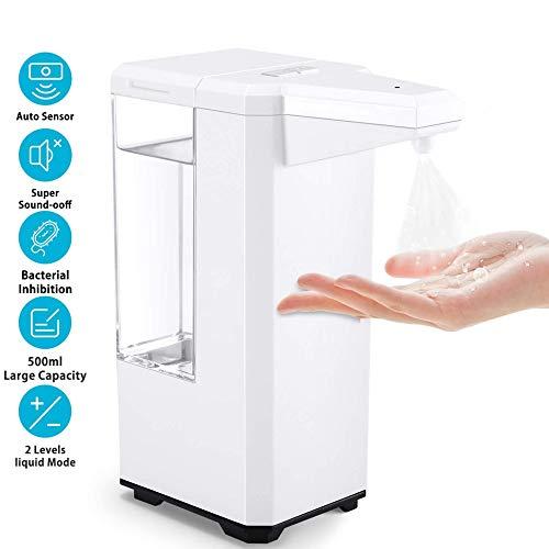 GWT Automatic Liquid Sprayer,500ML Sensor Touchless Alcohol Liquid Sprayer Dispensers for Home School Office Hotel