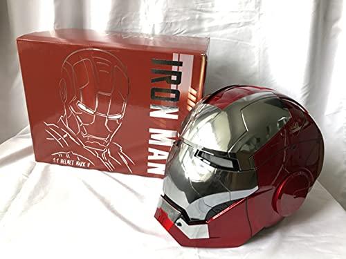 1 / 1MK5 de Acción en Vivo de Control de Voz Casco de La Máscara de Iron Man/Apertura Manual/Cierre/Modelo, Prtátil de Control Remoto, Helmet - One Size