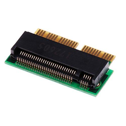 Shiwaki 12+16 Pin To M.2 NGFF M Key SSD Convert For Macbook Pro Retina MGX92 MGXA2