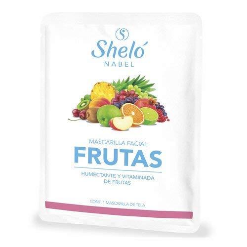 Mascarillas Faciales Frutas marca Sheló Nabel