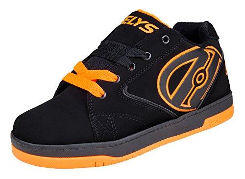 Heelys  Propel 2.0 (770506),  Unisex Kinder Sneakers , Schwarz - Schwarz (Schwarz/Orange) - Größe: 36.5 EU ( 4 UK )