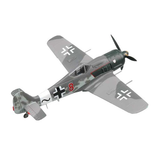 "Easy Model Fw190A-8 ""Red 8"" IV./JG 3, Uffz. Willi Maximowitz, 06. 1944 Airplane Model Building Kit"