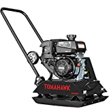 TOMAHAWK Vibratory Plate Compactor Tamper for Dirt, Asphalt, Gravel, Soil Compaction with Kohler Engine