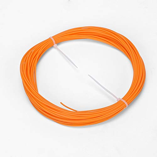 ACCCREATE 3D Filament, PLA 1.75mm 50g Sample Pack,3D Pen Filament Refill,Filament for 3D Printers and 3D Pen(Orange)