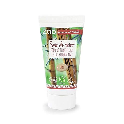 Zao - Bambus Refill Liquid Silk Foundation - Nr. 701 / Ivory - 30 ml
