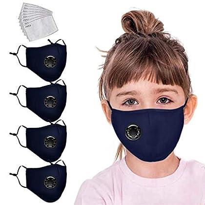JFDSD niño Reutilizable y Lavable con Bandas Elasticas para Los Oídos Pack 4 unidades+8 unidades