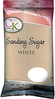 CK Products No.1 Sanding Sugar, White