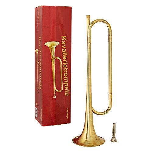 Weinberger Kavallerietrompete Signalhorn Messing Instrument Kavallerie Trompete