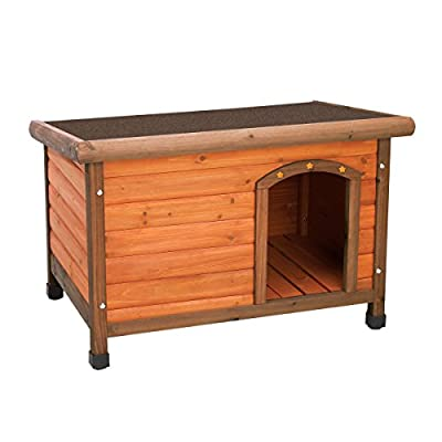 Ware Manufacturing Premium Plus Fir Wood Dog House - Small