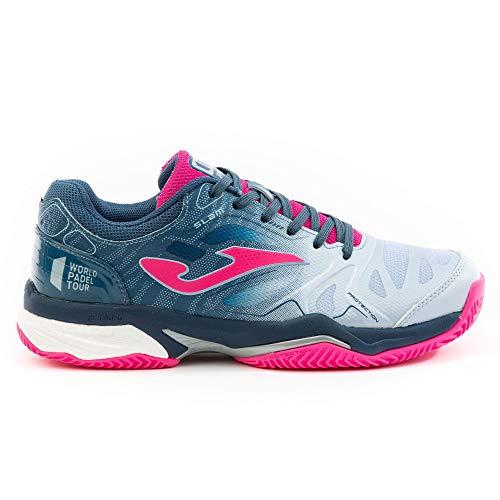 Joma T. Slam Lady 2004 Clay - Zapatillas de Tenis para Mujer Azul Size: 39 EU