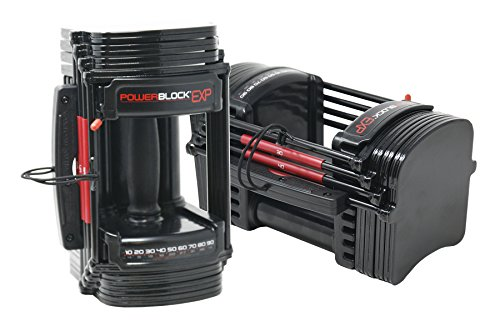 PowerBlock EXP Stage 1 Adjustable Dumbbell Set (1 pair)