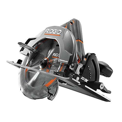 Ridgid ZRR8653B GEN5x 18V Lithium-Ion 7-1/4 in. Brushless Circular Saw (Tool Only) (Renewed)