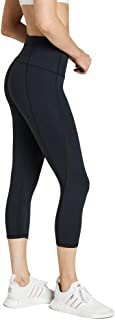 Rockwear Activewear Women's 7/8 Shaped Waist Tight Black 14 from Size 4-18 for 7/8 Length Bottoms Leggings + Yoga Pants+ Y...