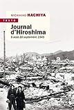 Journal d'Hiroshima : 6 août - 30 septembre 1941