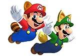 3D Mario Party Island Tour Poster Super Mario Bros Wallpaper 3D Window Stickers Vinilos Decorativos para dormitorio60x90cm-A_60*90CM
