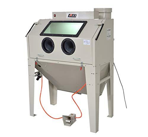 Sandstrahlgerät Sandstrahlkabine 420L Sandstrahler + Schleifmittel gratis FR7016