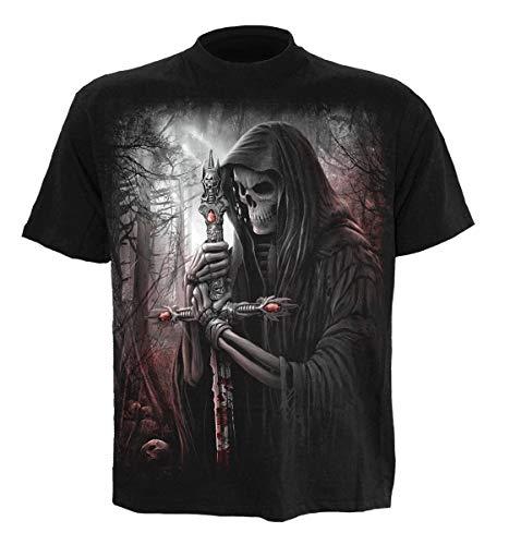 Spiral Hommes Ame Chercheur Noir T-Shirt tailles S-XXL