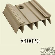 Door Parts: Bottom/Sweep, Slide on, Fin Type - Beige Color