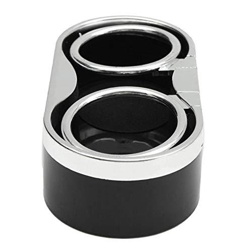 ZqiroLt Getränkehalter, selbstklebend, universell, zur Aufbewahrung von Getränken im Auto-LKW-Format Schwarz