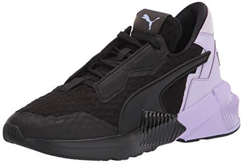 PUMA Women's Provoke XT Cross Trainer Sneaker Black-Light Lavender, 9