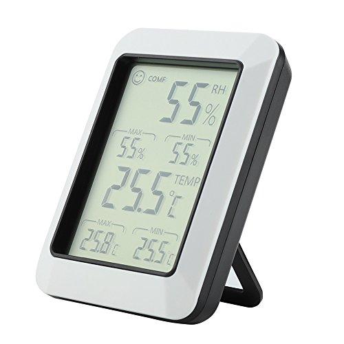 Temperatuur, luchtvochtigheid, hygrometer, multi-temperatuur - multifunctionele elektronische elektronische teller lcd draadloze tester