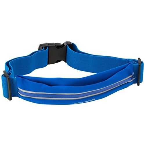 Ultrasport con un Bolsillo con Cremallera Riñonera de Deporte, Unisex, Azul, OS