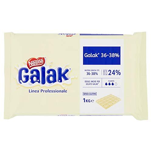 Nestlé Galak Professionale Cioccolato Bianco Galak Pane, 1 Kg