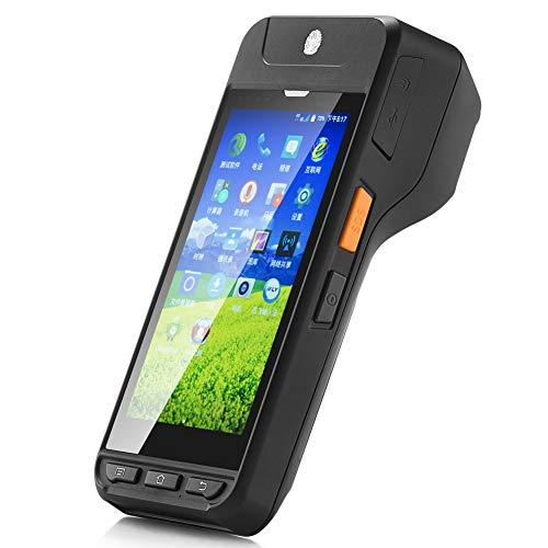 Hidon Imprimante thermique portable Bluetooth 58 mm avec lecteur de code barres 2D