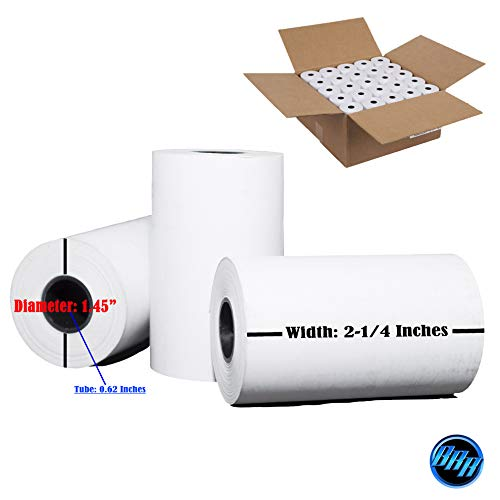 2-1//4 x 230 SHARP XE-A207 PAPER 50 NEW ROLLS BPA FREE MADE IN USA from BuyRegisterRolls