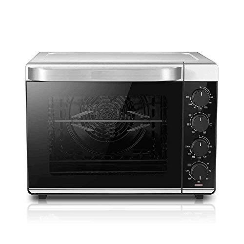 CMmin Multi-functie Koken Oven 32L Volume, Temperature (60~230 °), Toast Pizza Rotisserie Bake Broil, onafhankelijke temperatuurregeling van de bovenste en onderste buizen, Silver