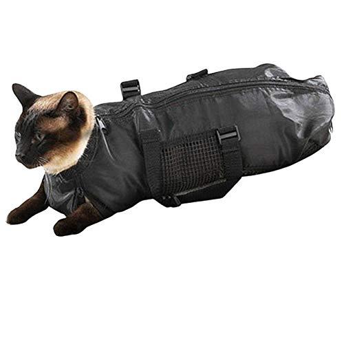 Katzensack Fellpflege Katze Katzenreinigungstasche Tierbedarf für Katzen Haustierträger für Katzen Katzenklauenpflege Tierpflegetasche