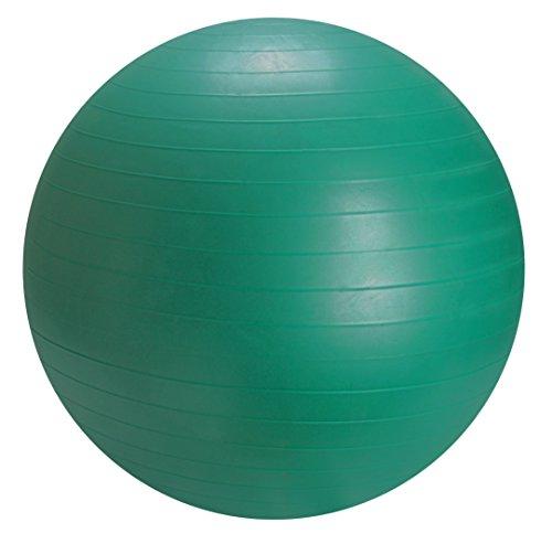 Dr. Junghans Medical Gymnastikball 65 cm mit Pumpe Gymanstikball, Grün