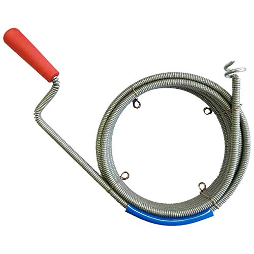 Rohrreinigungsspirale Ø 9mm x 10m mit Bohrkopf