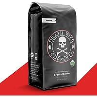 Death Wish Dark Roast Coffee Grounds 16 Oz