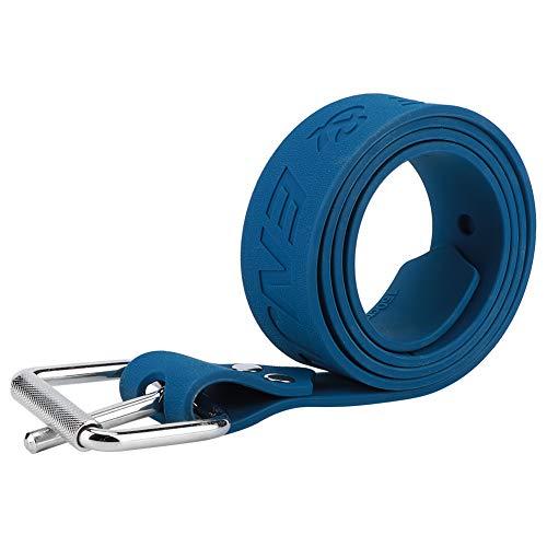 Weikeya Usable Buceo Peso Cinturón, Buceo Traje Hecho de Goma Acero Hebilla (Azul)