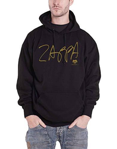 Frank Zappa Kapuzenpullover Apostrophe Logo Back Print Nue offiziell Herren