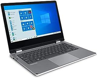 Positivo Duo Q432A Notebook 2 em 1 , Intel Atom Quad Core, 4GB RAM, SSD 32 GB, Tela 11,6 LCD, Windows 10, Cinza