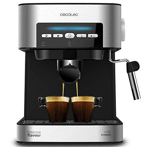 Cecotec Cafetera Express Digital Power Espresso Matic para Espresso y...
