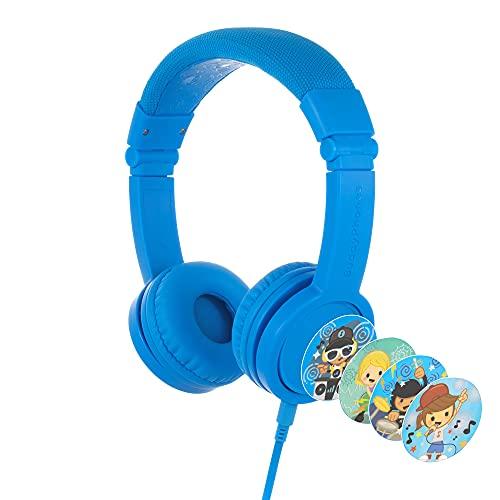 BuddyPhones Explore+, Volume-Limiting Kids Headphones, Foldable...