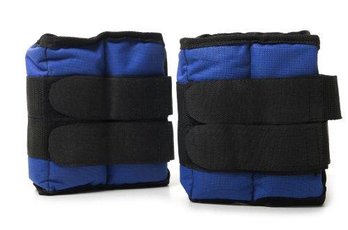 FA Sports, Polsini con Pesi Kepai Sports sandbag KL 2604, Blu (Blau/schwaz), 32 x 15 x 3 cm