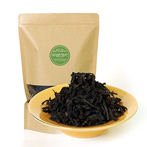 GOARTEA 100g / 3.5oz Premium Fujian Wuyi Da Hong Pao Dahongpao Big Red Robe Rock Loose Leaf Chinese Oolong Tea