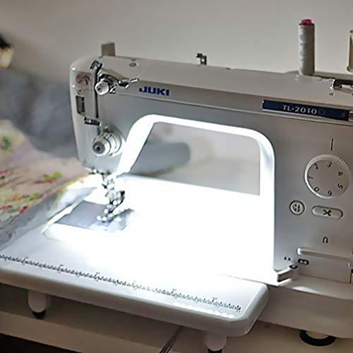 Mobestech 2 metros 5V USB 6500K luz blanca fría máquina de coser iluminación portátil autoadhesivo tira de luz