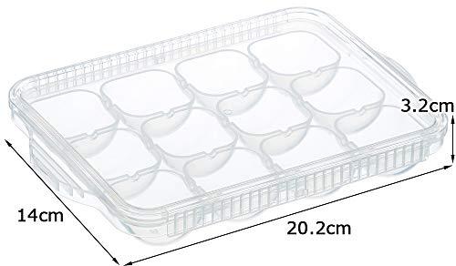 『スケーター 離乳食 保存容器 冷凍小分けトレー 12ブロック ベーシック TRMR12-A』のトップ画像