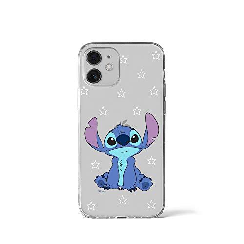 ERT GROUP Disney Stitch Funda de Telefono Diseñada para iPhone 12 Mini 5.4, Funda Protectora a Prueba de Golpes, Diseño Lilo and Stitch