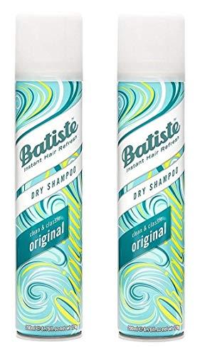 Batiste Dry Shampoo, Original Fragrance, 6.73 Ounce (2-Pack)