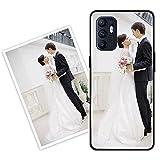 Sunrive Personalizzate Cover Compatibile con Oppo Reno6 PRO Personalizzabile con Foto Testi...