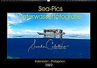 Sea-Pics Unterwasserfotografie (Wandkalender 2022 DIN A2 quer): Unterwasseraufnahmen aus Suedostasien (Monatskalender, 14 Seiten )