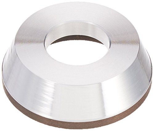 HHIP 2405-3876 3 x 7/8 x 1-1/4 Inch D11A2 Flaring Cup CBN Wheel